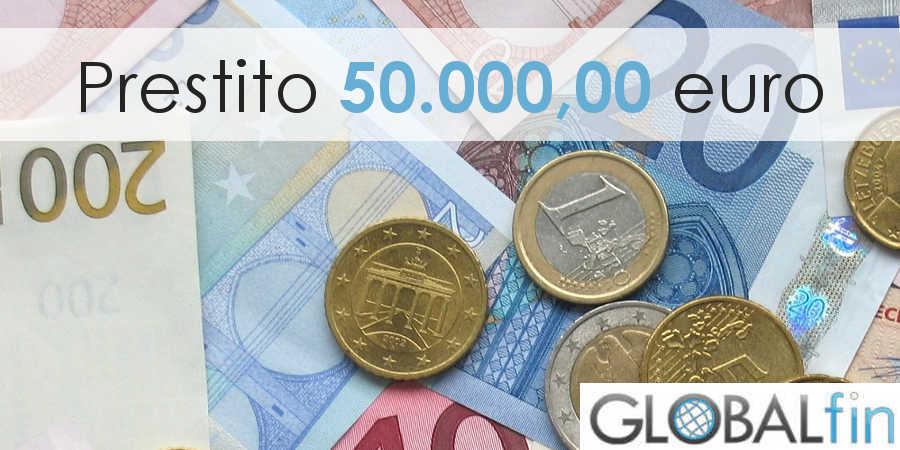 prestito 50000 euro